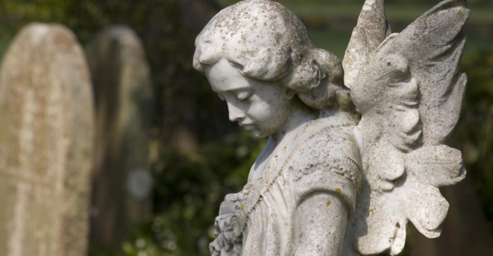 anioł smutny